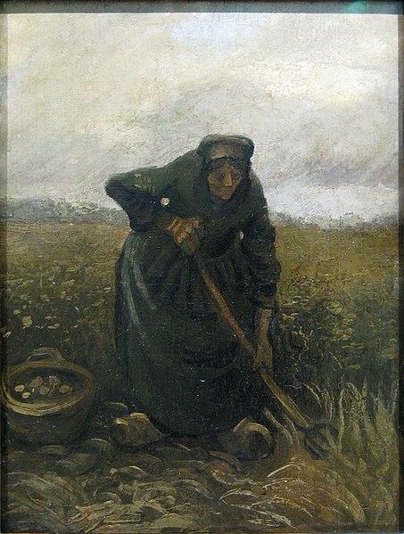 File:WLANL - artanonymous - Woman Lifting Potatoes.jpg