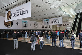 MacOS - Mac OS X Lion was announced at WWDC 2011 at Moscone West