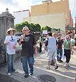 WWOZ 30th Parade Decatur Marigny Hats.JPG