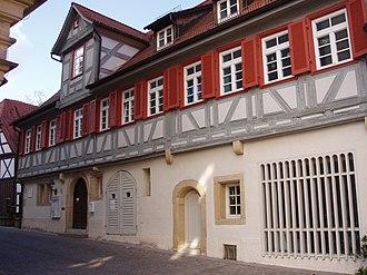 Waldenbuch - Waldenbuch Pfarrhaus Old rectory