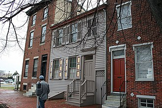 Camden, New Jersey - Walt Whitman House, Camden, New Jersey