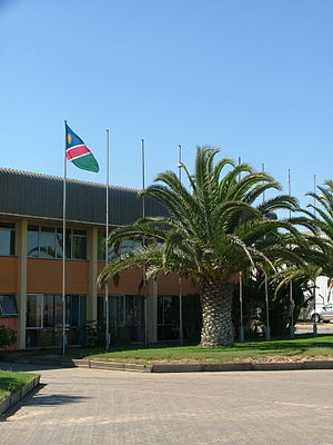 Walvis Bay Airport - The old Walvis Bay Airport 2008