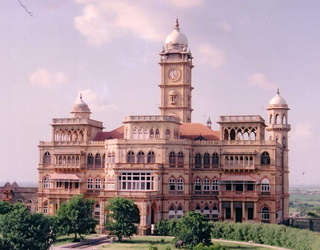 Wankaner city in Gujarat, India