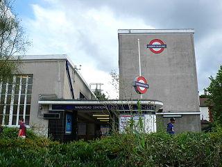 Wanstead tube station London Underground station