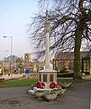 War Memorial, Main Street, Burley in Wharfedale - geograph.org.uk - 698219.jpg