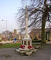 War Memorial, Main Street, Burley in Wharfedale - geograph.org.uk - 698219.jpg