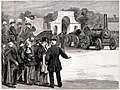 War of the Future, Steam Sappers 'marching past' at Chatham, 1878 S-l1600.jpg