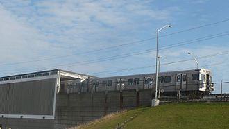 Warden station - Image: Warden TTC departure