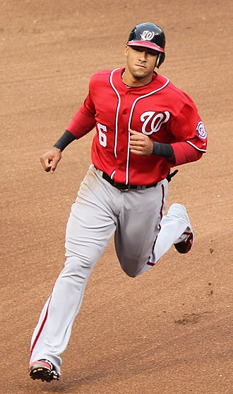 Ian Desmond - Desmond playing for the Washington Nationals in 2011