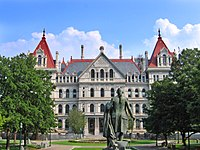 New York State Capitol Building.