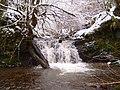 Waterfalls near Ramah Baptist Chapel - geograph.org.uk - 1768031.jpg