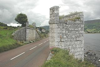 Waterfoot, County Antrim village in Northern Ireland