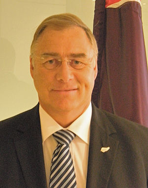 Wayne Mapp - Wayne Mapp at his office in Wellington in February 2010
