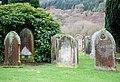 Weathered Gravestones at Southwick Cemetery. - geograph.org.uk - 675191.jpg