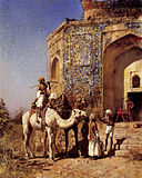 Weeks Edwin Old Blue Tiled Mosque Outside Of Delhi India.jpg