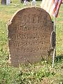 Wegl (Christina), Brush Creek Cemetery, 2015-10-26, 01.jpg