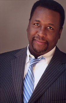 Photograph of actor Wendell Pierce taken in 2007