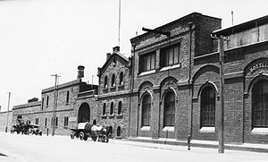 South Australian Brewing Company - West End Brewery, Hindley Street, south side c. 1920