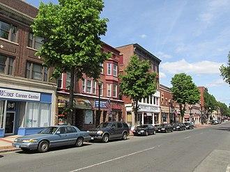 Meriden, Connecticut - West Main Street, Meriden