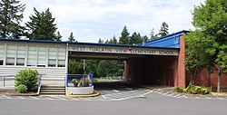 West Tualatin View Elementary School in the West Haven-Sylvan neighborhood