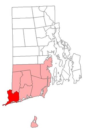 Westerly, Rhode Island - Image: Westerly RI lg