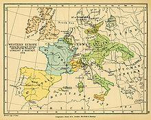 L'Europa nel 1713 come disegnata dal trattato di Utrecht