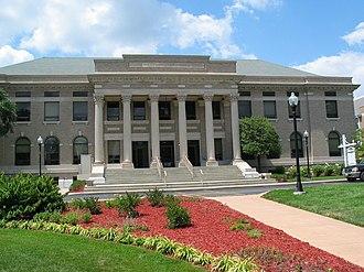 Westminster College (Missouri) - Westminster Hall on Westminster College Campus, Fulton MO
