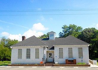 Whitesboro, New Jersey - Image: Whitesboro NJ school front