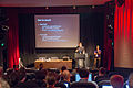 Wicke & Sastry at Parsoid; Dealing with Wikitext so you don't have to session at Wikimania 2014 (1).jpg
