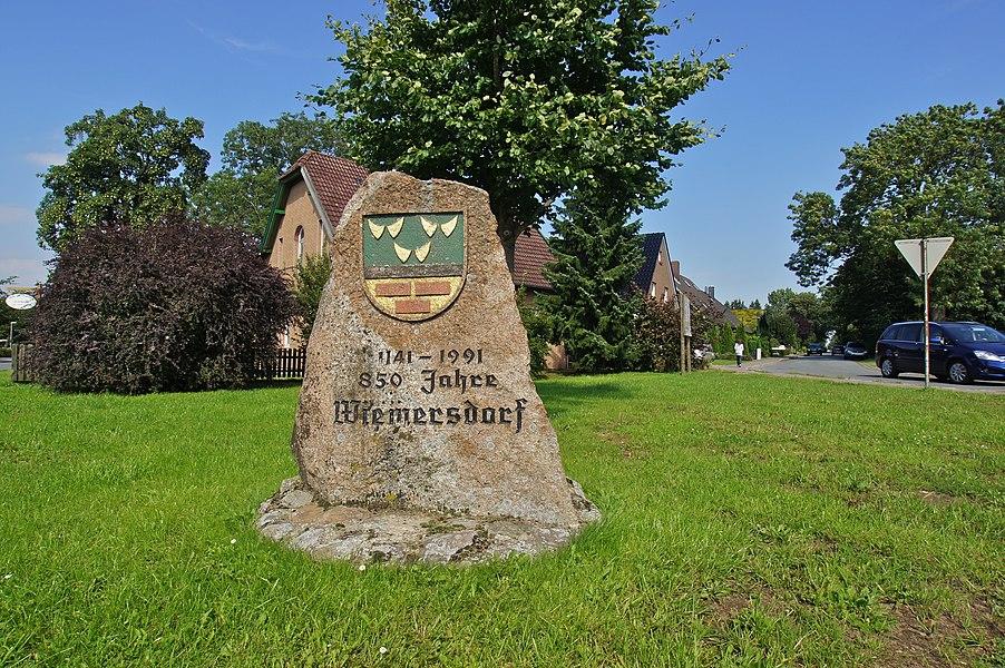 Wiemersdorf,  Germany: Memorial 1141-1991 850 years