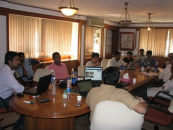 WikiMeetupBlore13 Apr2010 9696.jpg
