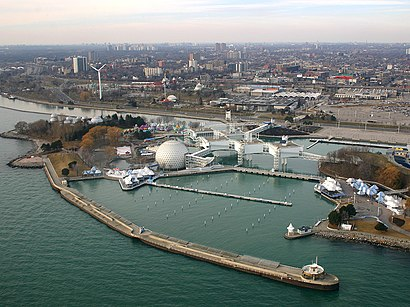 How to get to Ontario Place with public transit - About the place