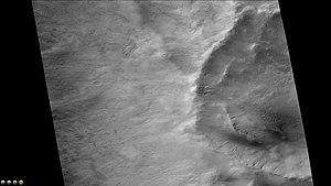 Copernicus (Martian crater) - Image: Wikicopernicusgullie s