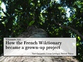 Wikimania 2016 - French Wiktionary.pdf