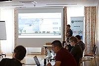 Wikimedia Hackathon Vienna 2017-05-19 Fantastic MediaWikis 009.jpg
