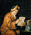 Willem van Mieris - An Old Man Reading - WGA15649.jpg