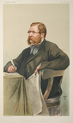 "William Waddington - ""France at the Congress"", caricature by T in Vanity Fair, 1878."
