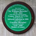 William Herschel Museum - IOP plaque.jpg