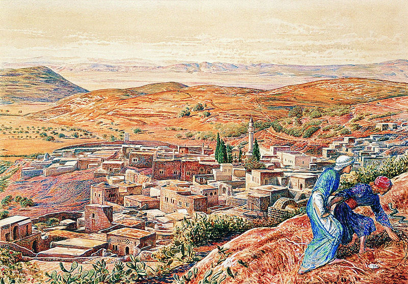 http://upload.wikimedia.org/wikipedia/commons/thumb/8/83/William_Holman_Hunt_-_Nazareth.jpg/800px-William_Holman_Hunt_-_Nazareth.jpg