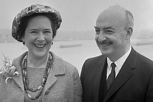 William R. Tyler - William Tyler, ambassador to the Netherlands, and wife (1965)