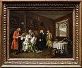 William hogarth, marriage a-la-mode, 1743 ca., 06 la morte della signora 1.jpg