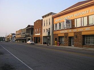 Williamstown, Kentucky - Main Street in Williamstown