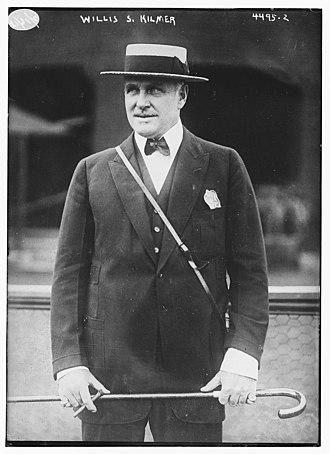 Willis Sharpe Kilmer - Kilmer in 1918