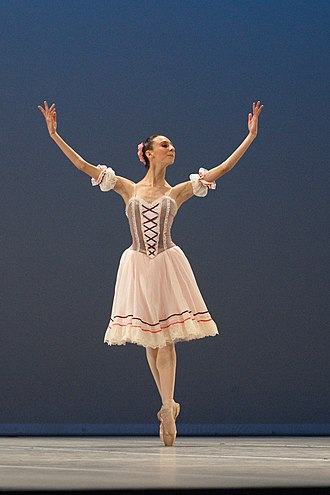 Ballet dancer - Coppélia, 2010