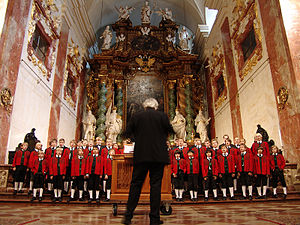 Boys' choir - The Wilten Boys' Choir, one of the oldest boys' choirs in Europe. Six boys from this choir were used to found the Vienna Boys' Choir by Maximilian I.