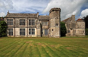Wolfeton House - The south front of Wolfeton House