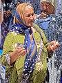 Woman Vendor in Chorsu Bazaar - Tashkent - Uzbekistan - 02 (7472112410).jpg