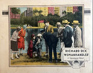 Womanhandled - Lobby card