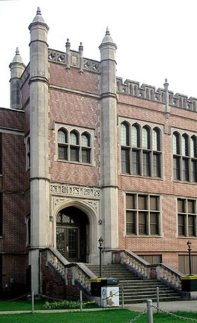 Woodlawn High School, a magnet school Woodlawn High School Birmingham.jpg