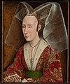 Workshop of Rogier van der Weyden (Netherlandish - Portrait of Isabella of Portugal - Google Art Project.jpg